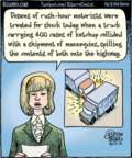 Cartoonist Dan Piraro  Bizarro 2015-10-23 truck