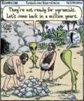 Cartoonist Dan Piraro  Bizarro 2016-01-26 alien