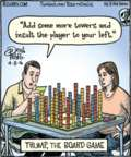 Cartoonist Dan Piraro  Bizarro 2016-04-08 game