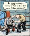 Cartoonist Dan Piraro  Bizarro 2016-04-16 pie