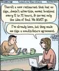 Cartoonist Dan Piraro  Bizarro 2016-05-13 non