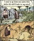 Comic Strip Dan Piraro  Bizarro 2016-06-06 caveman