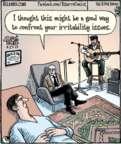 Cartoonist Dan Piraro  Bizarro 2017-04-27 this