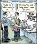 Cartoonist Dan Piraro  Bizarro 2017-06-14 diaper
