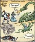 Cartoonist Dan Piraro  Bizarro 2017-07-13 fairy