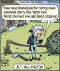 Cartoonist Dan Piraro  Bizarro 2017-10-20 news