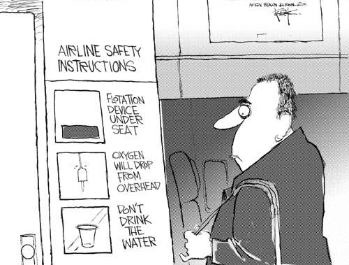 Cartoonist Chip Bok  Chip Bok's Editorial Cartoons 2005-01-24 travel