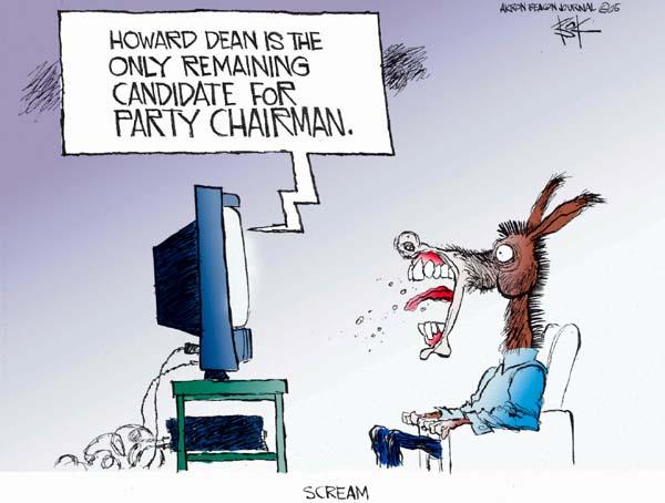Cartoonist Chip Bok  Chip Bok's Editorial Cartoons 2005-02-11 candidate