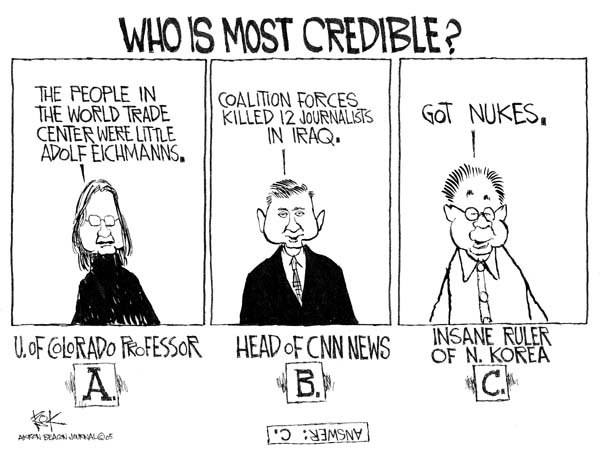 Cartoonist Chip Bok  Chip Bok's Editorial Cartoons 2005-02-14 answer