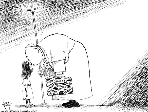 Chip Bok  Chip Bok's Editorial Cartoons 2005-04-01 caption