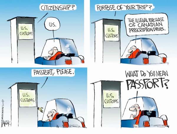 Chip Bok  Chip Bok's Editorial Cartoons 2005-04-13 Canada