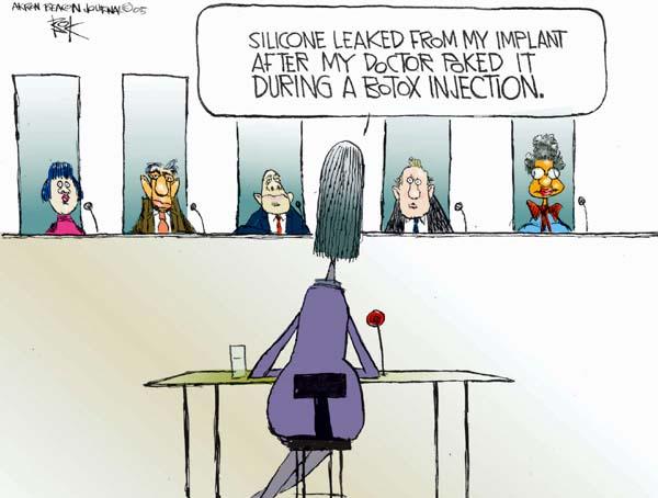 Cartoonist Chip Bok  Chip Bok's Editorial Cartoons 2005-04-18 safety