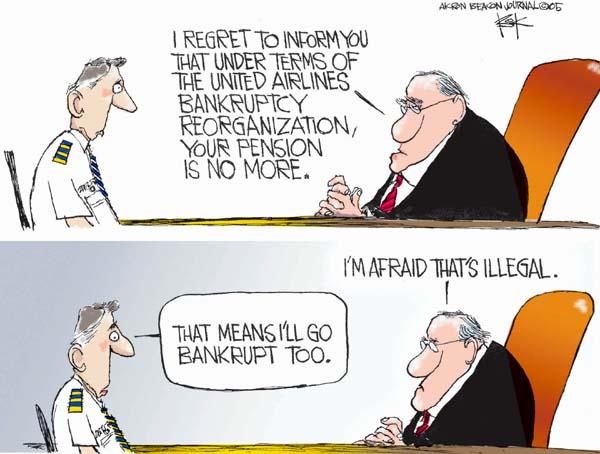 Chip Bok  Chip Bok's Editorial Cartoons 2005-05-17 personal finance