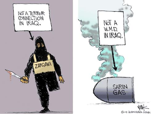 Cartoonist Chip Bok  Chip Bok's Editorial Cartoons 2004-05-21 chemical weapon