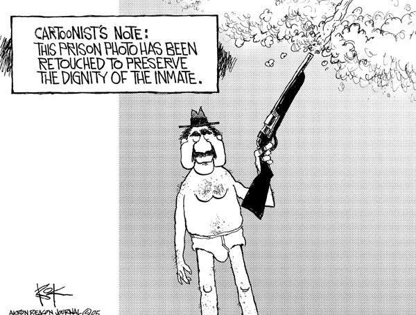 Cartoonist Chip Bok  Chip Bok's Editorial Cartoons 2005-05-23 retouch