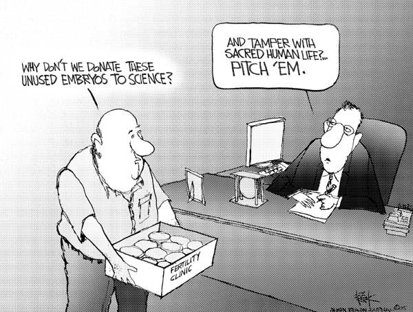 Cartoonist Chip Bok  Chip Bok's Editorial Cartoons 2005-05-31 pro
