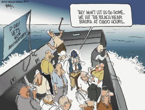 Chip Bok  Chip Bok's Editorial Cartoons 2004-06-06 D-Day