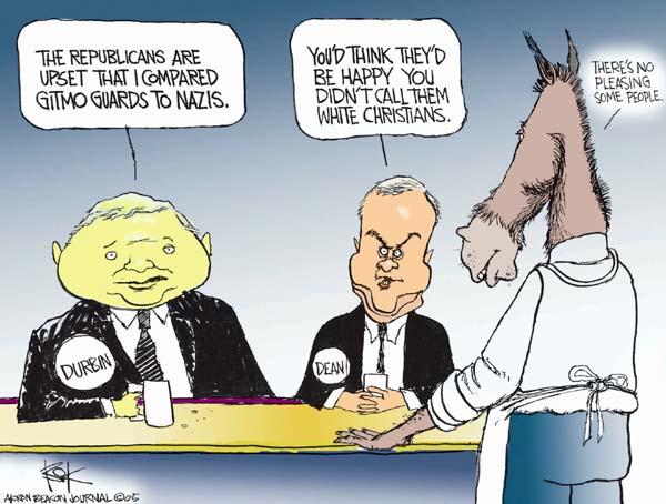 Cartoonist Chip Bok  Chip Bok's Editorial Cartoons 2005-06-20 republican