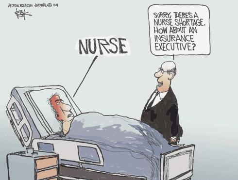 Cartoonist Chip Bok  Chip Bok's Editorial Cartoons 2004-06-22 insurance policy