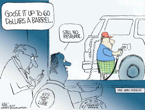 Cartoonist Chip Bok  Chip Bok's Editorial Cartoons 2005-06-22 vehicle