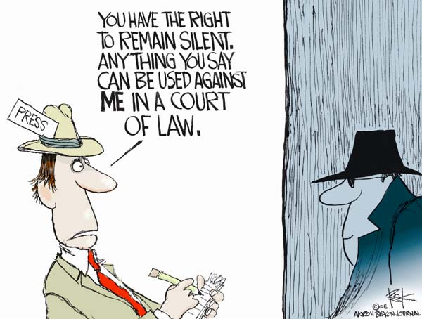 Chip Bok  Chip Bok's Editorial Cartoons 2005-07-05 testimony