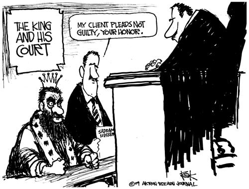 Cartoonist Chip Bok  Chip Bok's Editorial Cartoons 2004-07-06 court