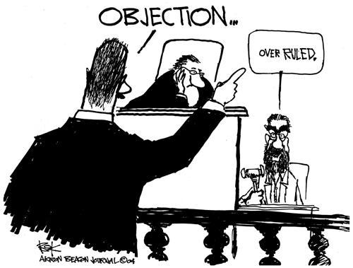 Cartoonist Chip Bok  Chip Bok's Editorial Cartoons 2004-06-07 court