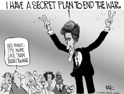 Cartoonist Chip Bok  Chip Bok's Editorial Cartoons 2004-08-06 Richard Nixon