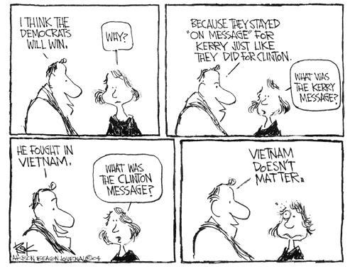 Cartoonist Chip Bok  Chip Bok's Editorial Cartoons 2004-08-09 candidate