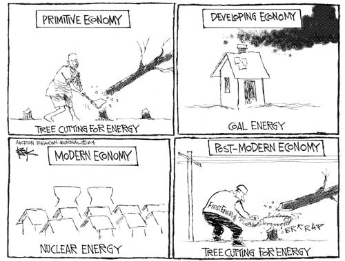 Cartoonist Chip Bok  Chip Bok's Editorial Cartoons 2004-08-16 nuclear