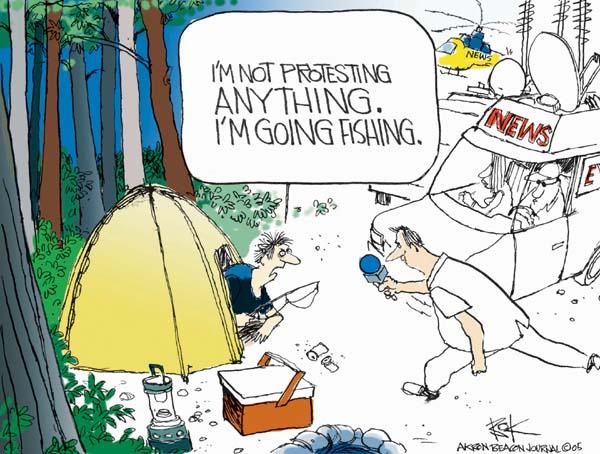 Cartoonist Chip Bok  Chip Bok's Editorial Cartoons 2005-08-24 reaction