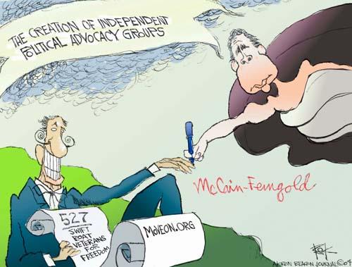 Cartoonist Chip Bok  Chip Bok's Editorial Cartoons 2004-08-26 veteran
