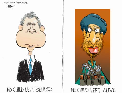 The No Child Left Behind Editorial Cartoons | The ...