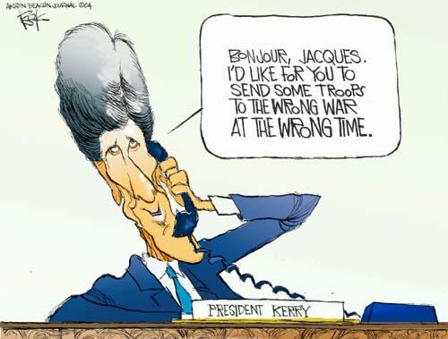 Cartoonist Chip Bok  Chip Bok's Editorial Cartoons 2004-09-23 candidate