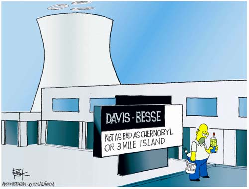 Cartoonist Chip Bok  Chip Bok's Editorial Cartoons 2004-09-28 nuclear energy