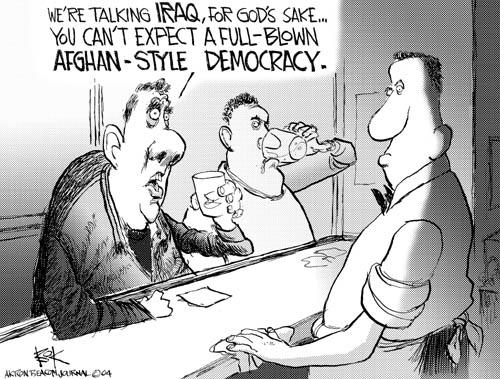 Cartoonist Chip Bok  Chip Bok's Editorial Cartoons 2004-10-25 limit