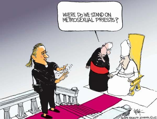 Cartoonist Chip Bok  Chip Bok's Editorial Cartoons 2005-10-04 homosexual