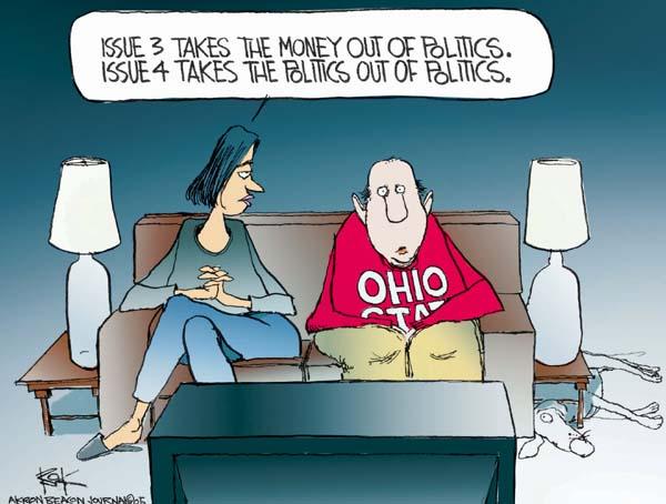 Cartoonist Chip Bok  Chip Bok's Editorial Cartoons 2005-10-26 ballot