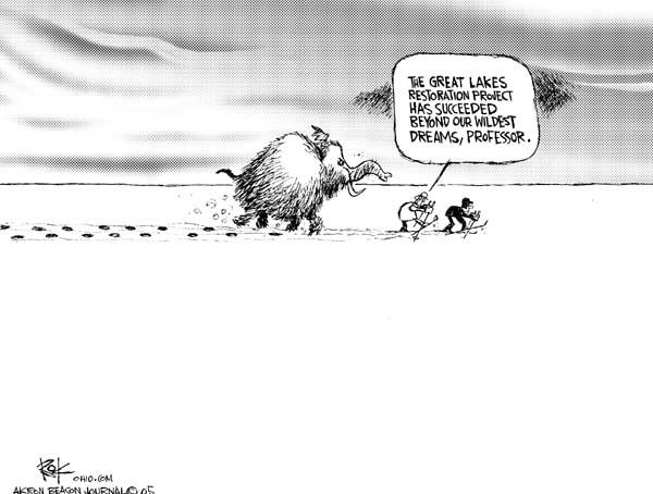 Cartoonist Chip Bok  Chip Bok's Editorial Cartoons 2005-12-19 environment