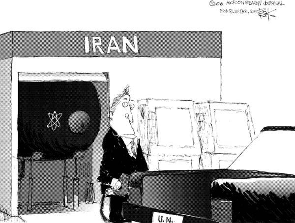 Cartoonist Chip Bok  Chip Bok's Editorial Cartoons 2006-01-17 tank