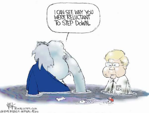 Cartoonist Chip Bok  Chip Bok's Editorial Cartoons 2006-01-18 corruption