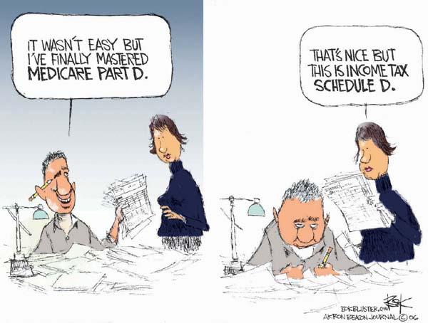 Cartoonist Chip Bok  Chip Bok's Editorial Cartoons 2006-01-19 prescription