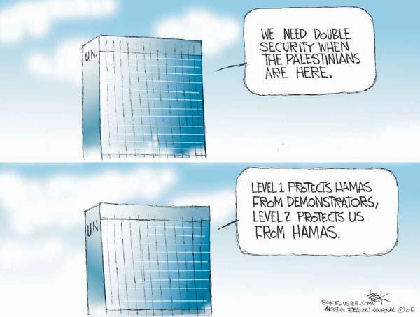 Cartoonist Chip Bok  Chip Bok's Editorial Cartoons 2006-02-01 Palestine