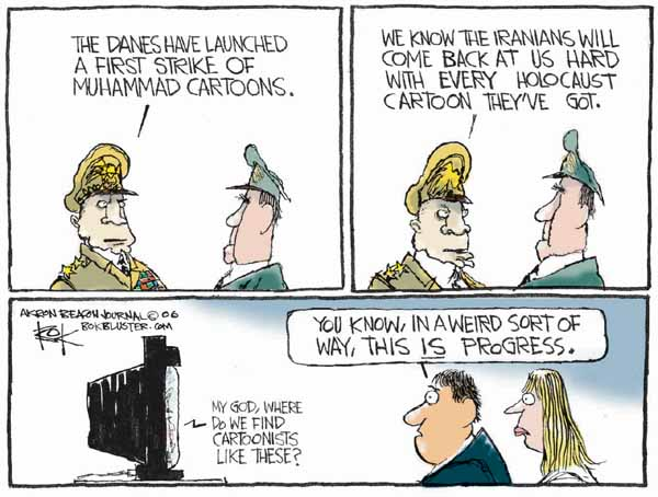 Cartoonist Chip Bok  Chip Bok's Editorial Cartoons 2006-02-10 divide