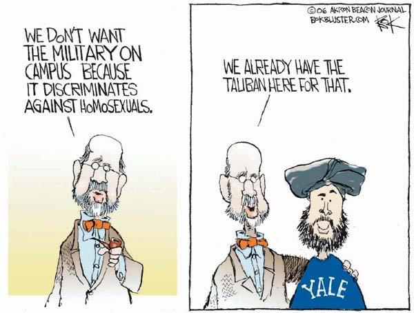 Cartoonist Chip Bok  Chip Bok's Editorial Cartoons 2006-03-08 discrimination