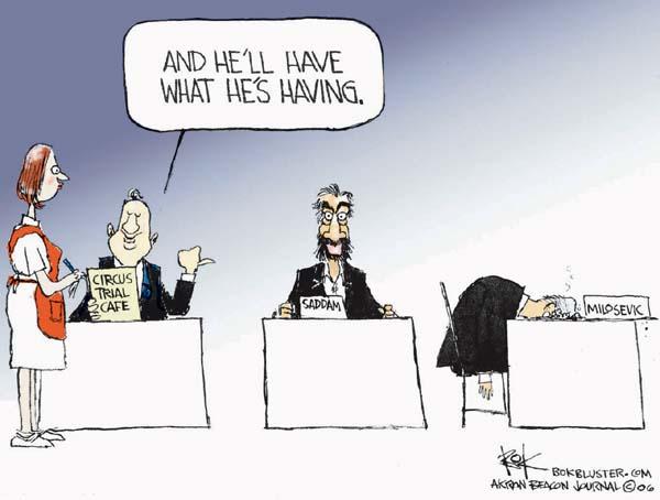 Cartoonist Chip Bok  Chip Bok's Editorial Cartoons 2006-03-21 court