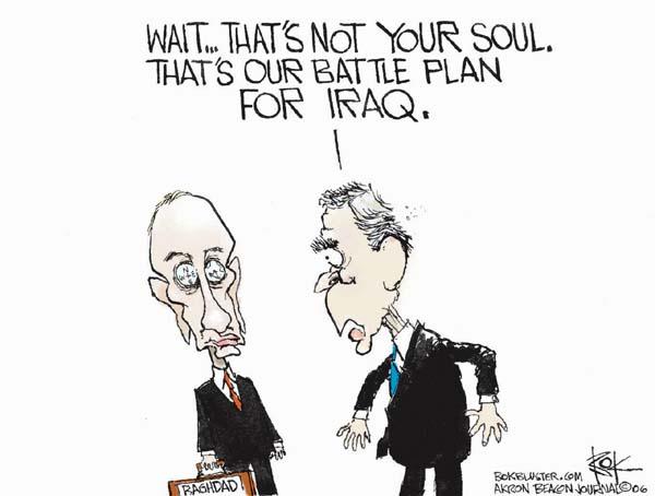 Cartoonist Chip Bok  Chip Bok's Editorial Cartoons 2006-03-29 Russian President