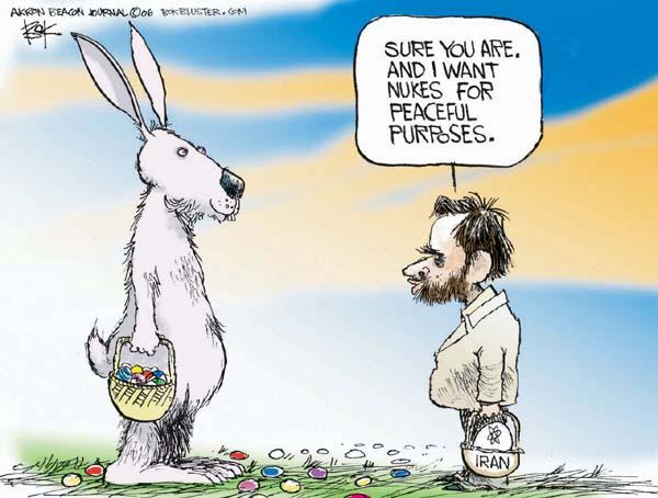 Chip Bok  Chip Bok's Editorial Cartoons 2006-04-17 Mahmoud Ahmadinejad