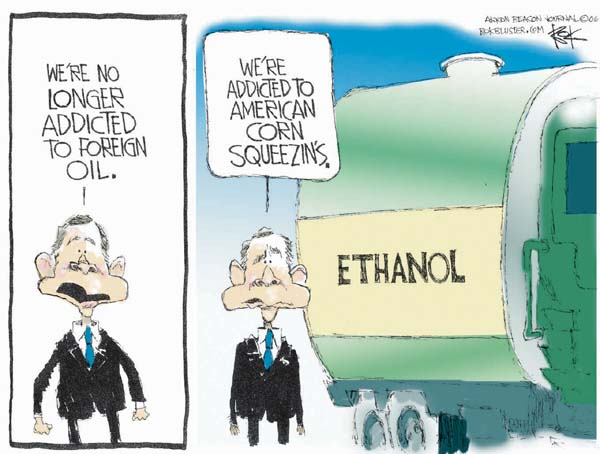 Cartoonist Chip Bok  Chip Bok's Editorial Cartoons 2006-04-26 energy policy