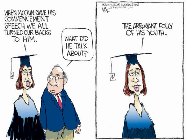 Chip Bok  Chip Bok's Editorial Cartoons 2006-05-25 young